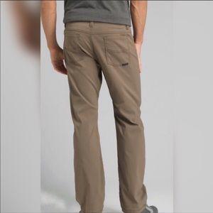 PrAna Zion Stretch Slim Fit Pant Sz 33x32